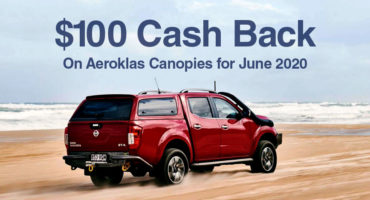 CASH BACK: $100 on Canopies